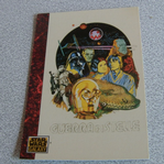 Star Wars Galaxy 1993 Topps #58 italian poster Trading card